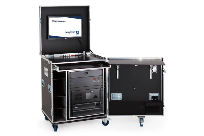 MagHyst workstation as stand-alone workspace